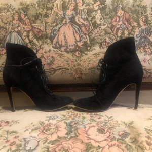 Gianvito Rossi Laced Booties